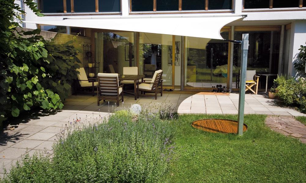sonnensegel von corradi sch ch plachenherstellungs gmbh. Black Bedroom Furniture Sets. Home Design Ideas